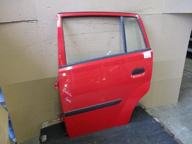 Tür hinten links rot Daihatsu Cuore (Typ: L2) Bj03