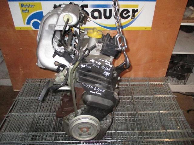 Motor Megane 1 Mc: K7M703 1,6
