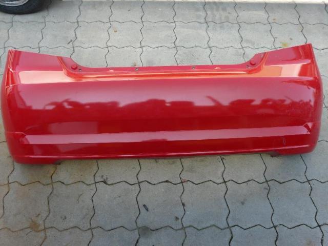 Stoßfänger hinten Chevrolet Kalos rot