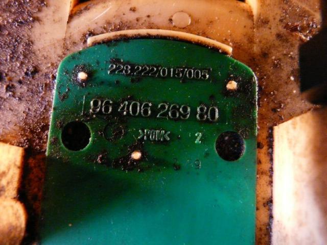 Kraftstoffpumpe citroen c5 4hx bild2