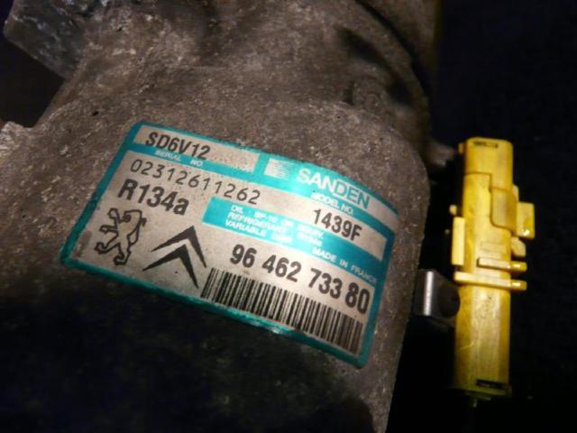 Klimakompressor citroen c3 80kw bild2