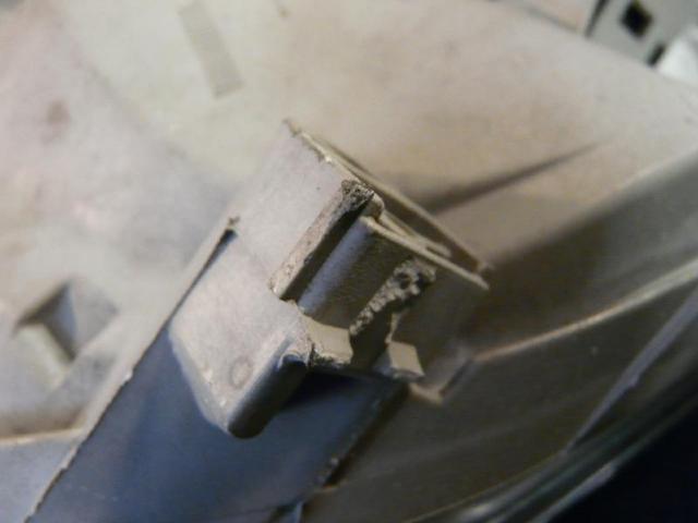 Scheinwerfer rechts w168 1.6l 75kw Bild