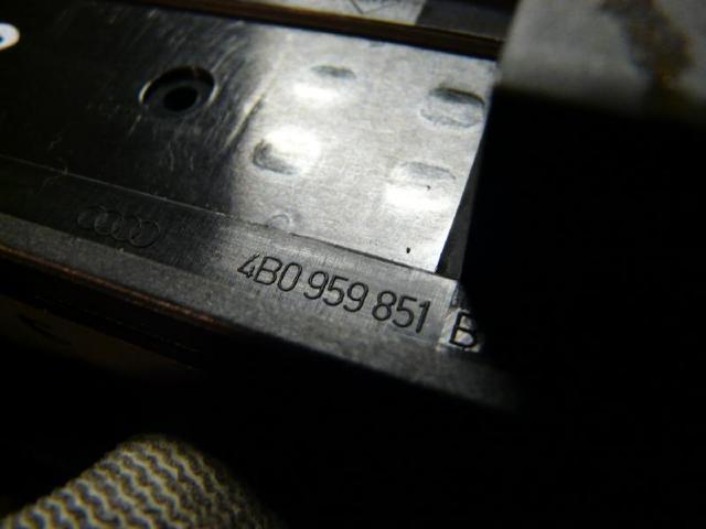 Fensterbedienung a6 3.0l 162kw bild1