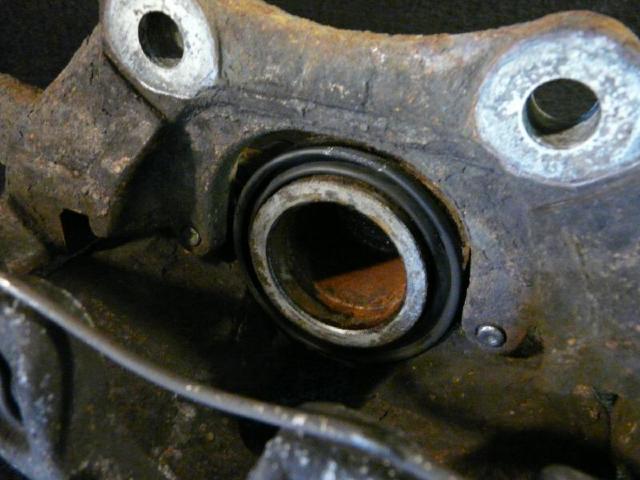 Bremssattel vorne links sharan bj97 1,9l bild2