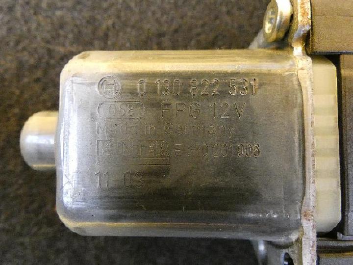 Fensterhebermotor vorne links polo 6r 1.2 51kw bild2