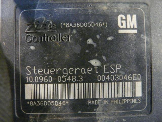 Abs steuergeraet astra h 1.9l 74kw bild2