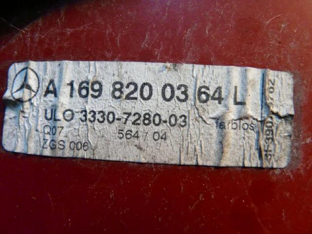 Rueckleuchte links w169 85kw 1.7 bild2