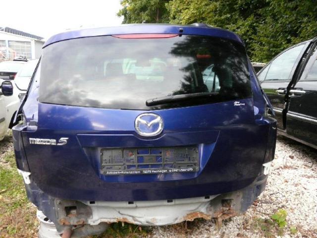 Heckklappe Mazda 5 Blau 2,0l CDI 105kw