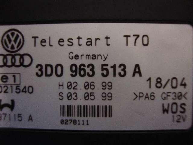 Steuergeraet  telestart  vw t5 Bild
