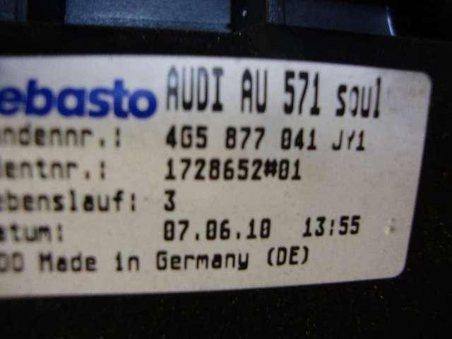 Schiebedach mit rahmen a6 4g 2,0 tdi bj 2010 Bild