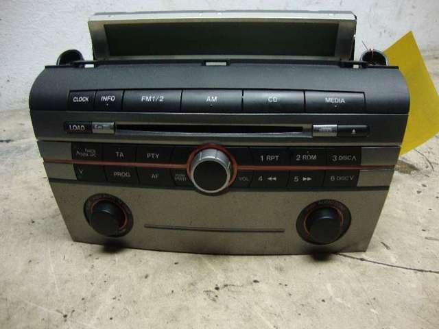 Radio Mit CD Mazda 3 Bj 08