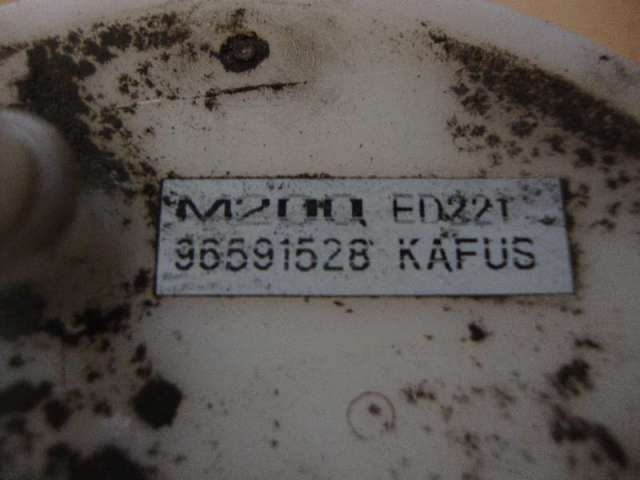 Kraftstoffpumpe elektr. chevrolet matiz bild1