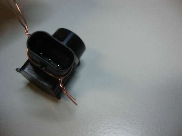 Pdc sensor tiguan bj 2012 schwarz c9x Bild