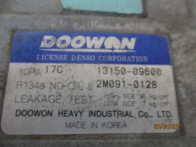Klimakompressor   kia carens 1,8 bj 2002 Bild