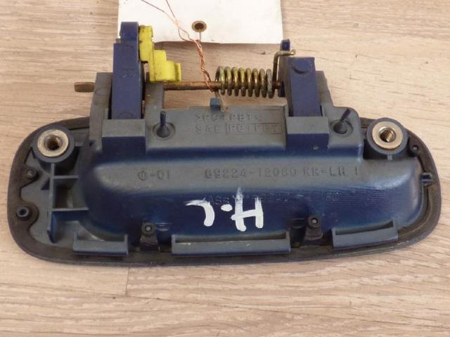 Tueraussengriff  hinten links  blau bild1