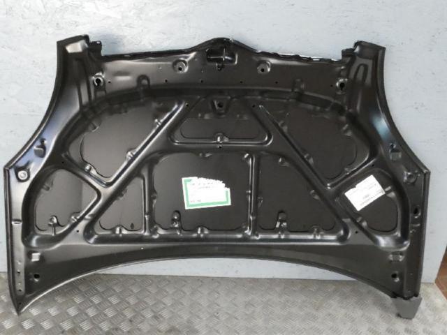 Motorhaube basislack schwarz bild2