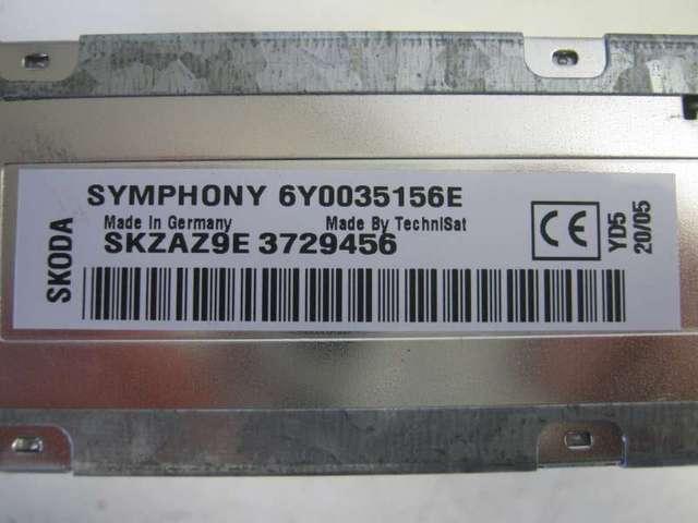 Autoradio symphony cd bild2