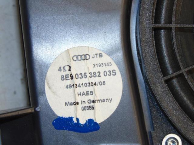 Subwoofer bassbox hinten mit lautsprecher bild2
