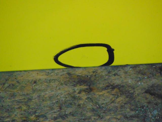 Tuer hinten links  hinten links gelb 09-14 Bild