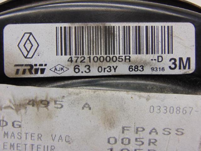 Bremskraftverstaerker 1.6 dci 96kw Bild