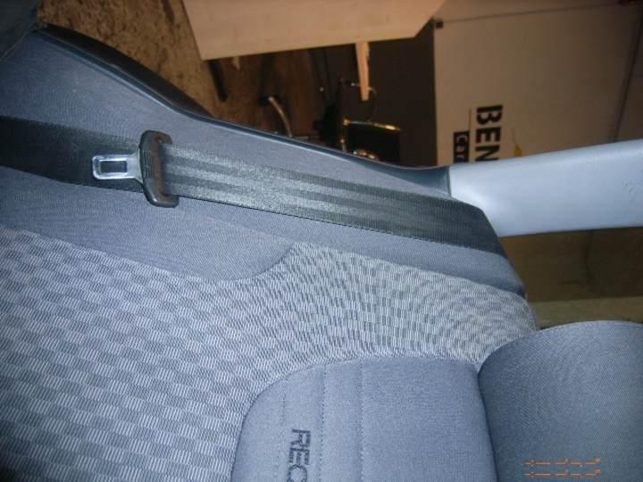 Sicherheitsgurt rechts hinten Bild