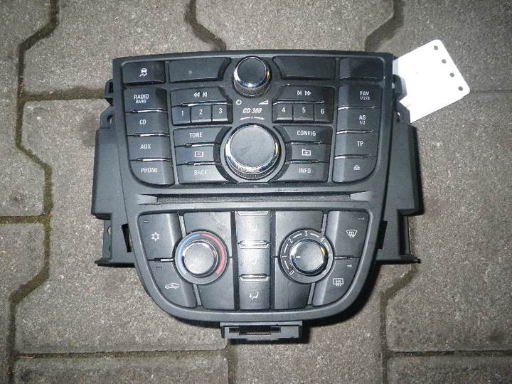 Heizungsbetaetigung (konsole) Bild