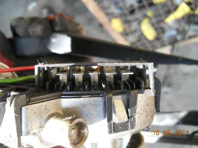 Wischermotor mit wischergestaenge komplett  bild2