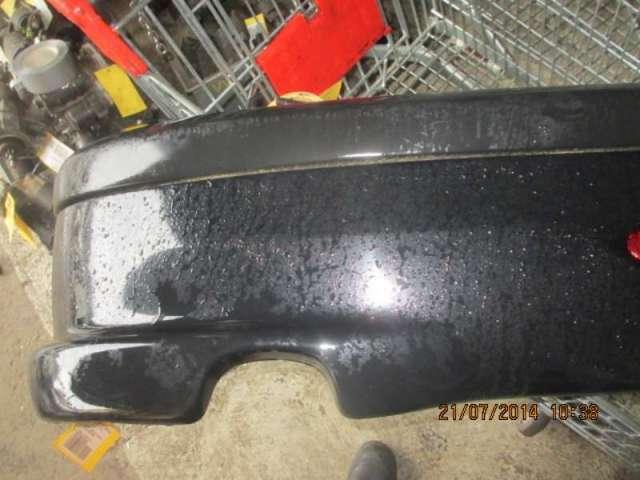 Stossfaenger hinten  komplett   schwarz met. bild1