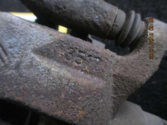Bremszange hinten links  Bild