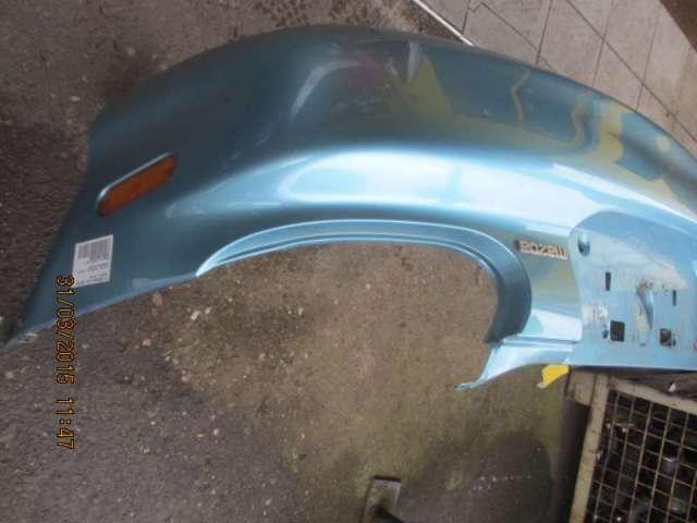 Stossfaenger hinten  komplett   blau met. Bild