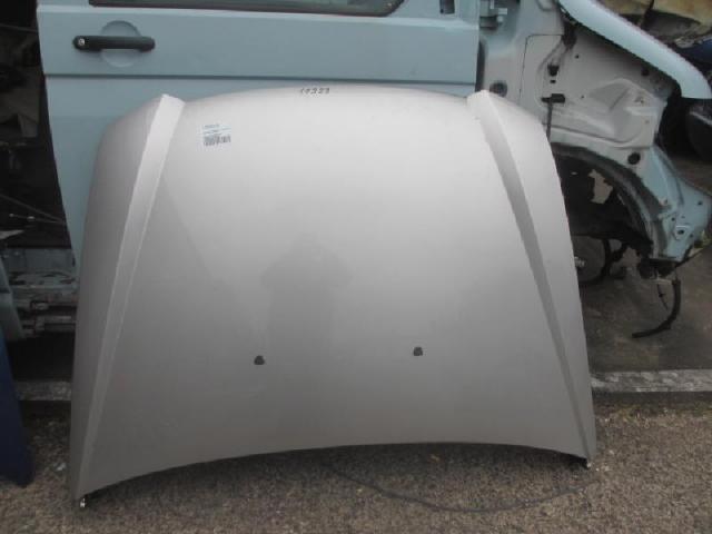 Motorhaube silber Bild