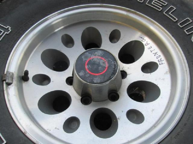Rad mit leichtmetall-felge bild2