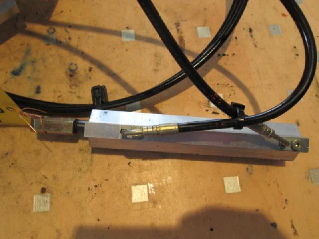 Heckklappe hydraulikzylinder links 2914 3 -  4 Bild