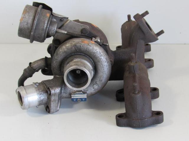 Turbolader mit abgaskruemmer bild1