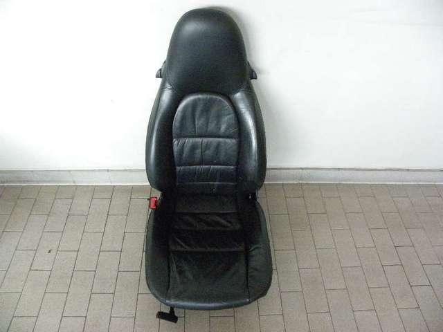 Sitz mit Lehne v.l.kpl.(Leder!) als E-Spender
