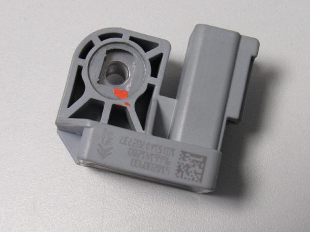 Crashsensor links Airbagsensor