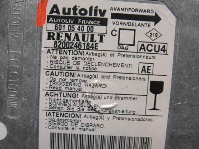 Steuergeraet airbag airbagsteuergeraet Bild