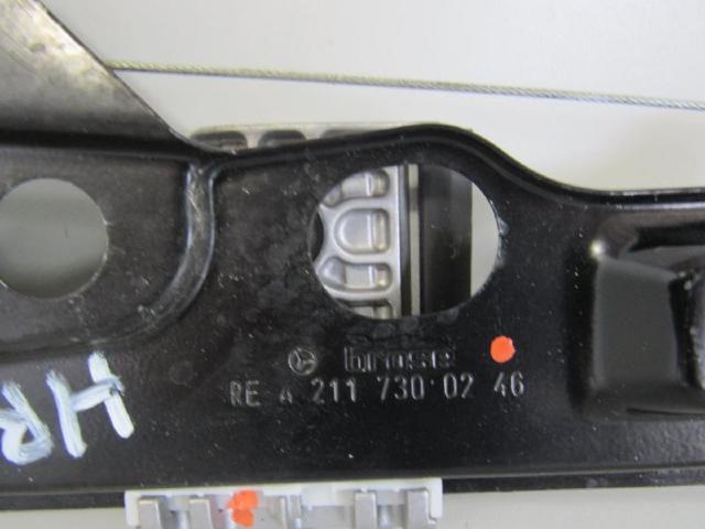 Fensterheber hinten rechts ohne motor Bild