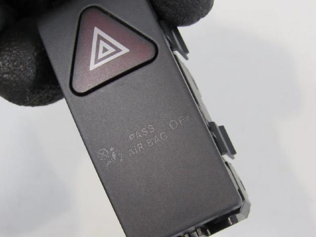 Warnblinkschalter anzeige passenger airbag off bild2