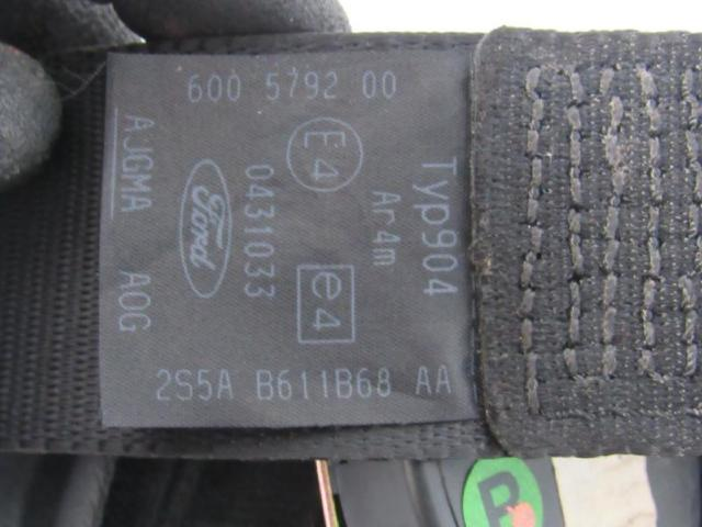 Sicherheitsgurt hinten rechts gurt Bild
