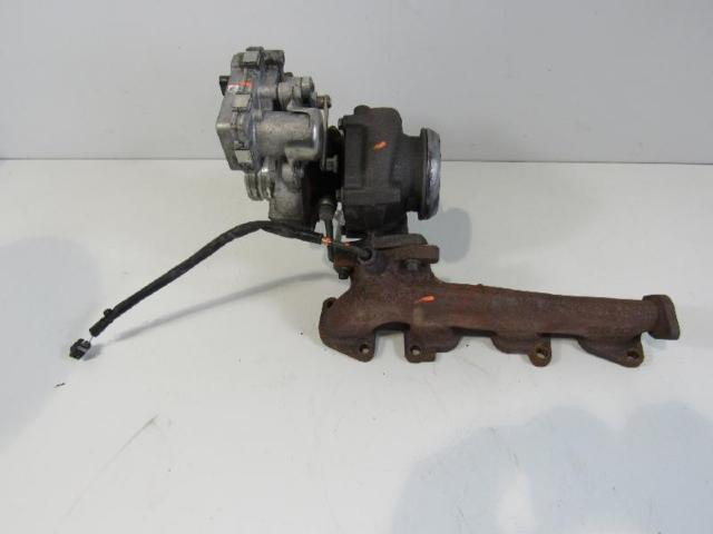 Turbolader mit kruemmer bild1