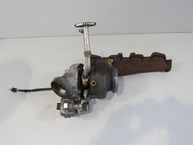Turbolader mit kruemmer bild2