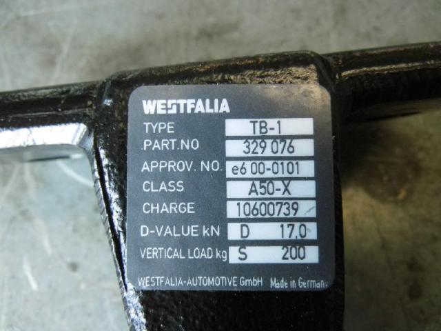 Anhaengerkupplung anschraubplatte mit kugelhals Bild