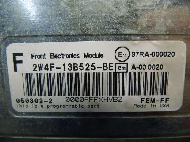 Steuergeraet front electronics module Bild