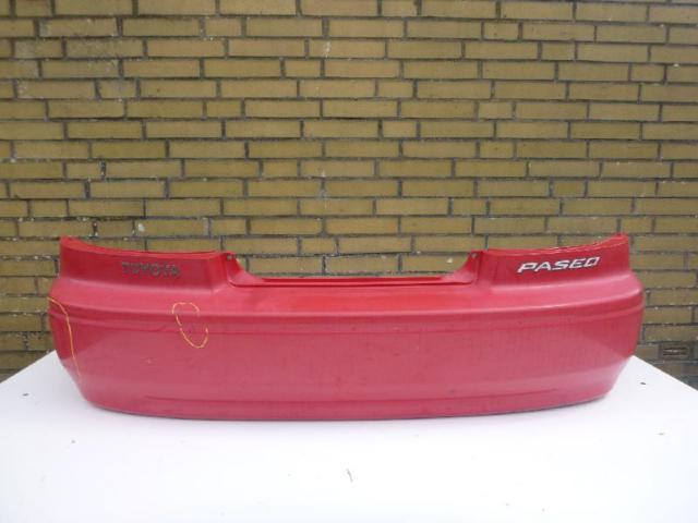 Stoßfänger hinten rot - e3L