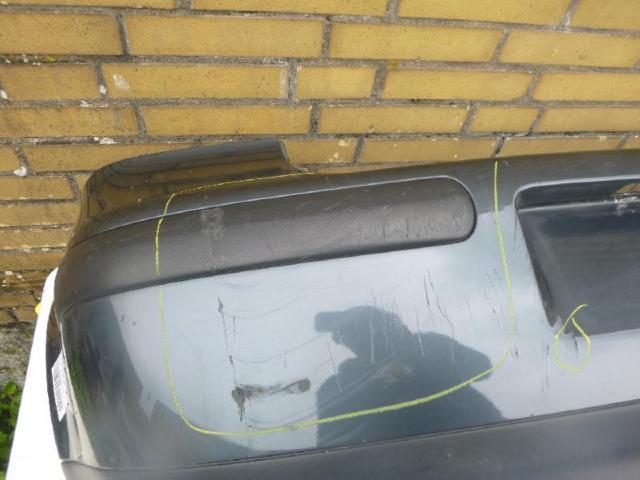 Stossfaenger hinten limousine grau lc7v bild1