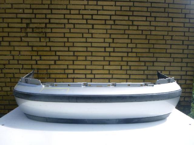 Stoßfänger hinten Limousine Silber