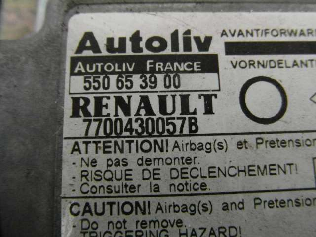 Steuergerät Airbag