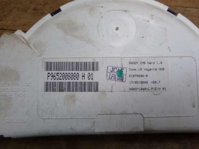 Kombiinstrument tacho 1,4d 50kw dv4td bild1