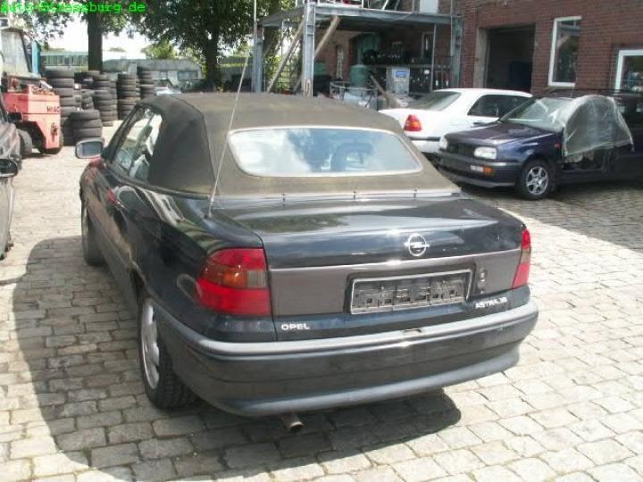 opel astra f cabrio  bild1